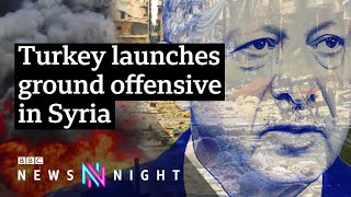 Turkey Syria offensive: What next for Syrian Kurds? - BBC Newsnight