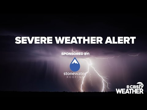 Tornado warning issued for part of Harrison County