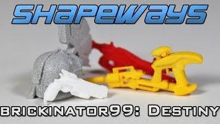 Shapeways Unboxing: Brickinator99's DESTINY Gear