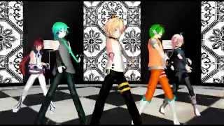 Mikuo, Mikiya, Usee, Gumo & IO - Ikkitousen [MMD]