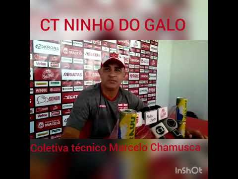 Coletiva técnico Marcelo Chamusca 18/04/2019,,