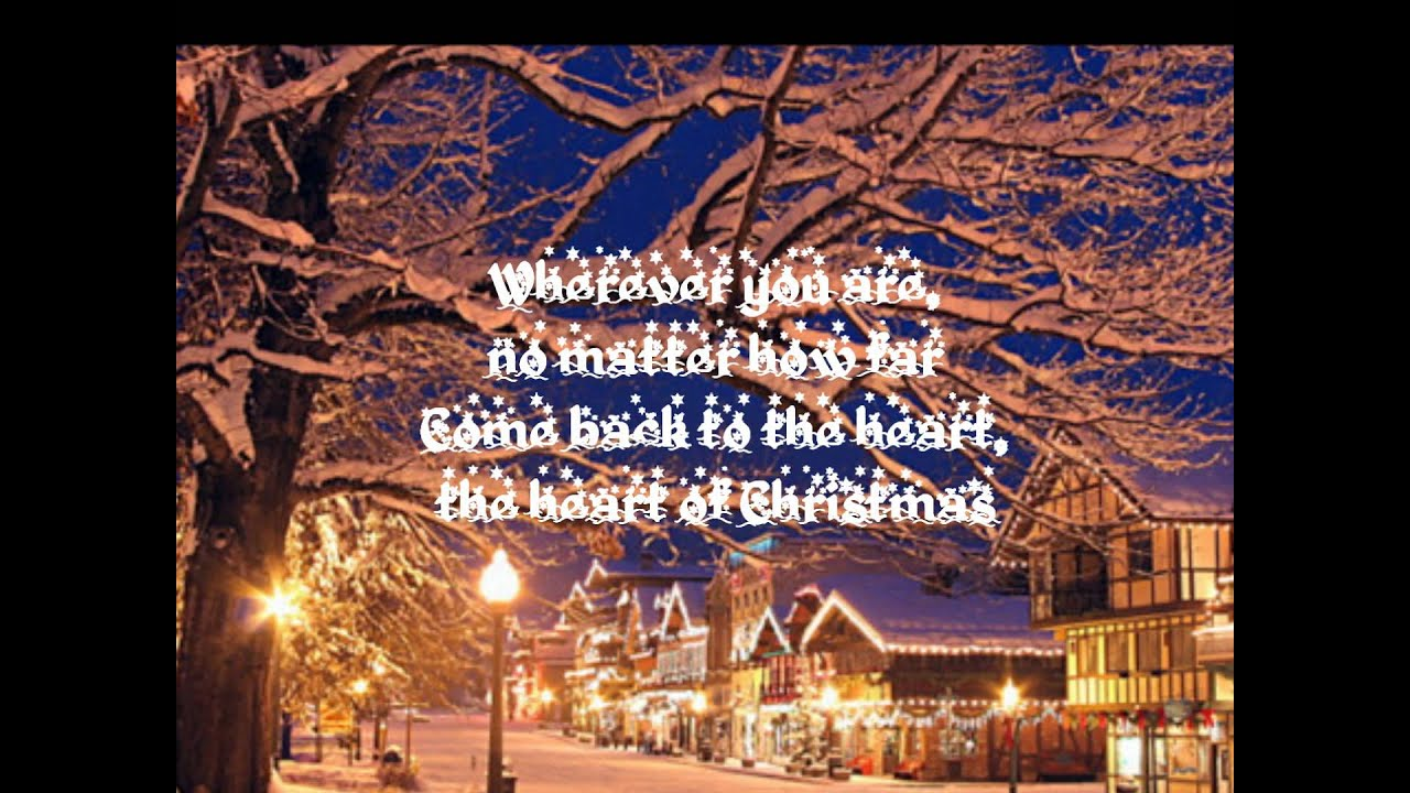 Matthew West The Heart Of Christmas.The Heart Of Christmas Lyrics Matthew West
