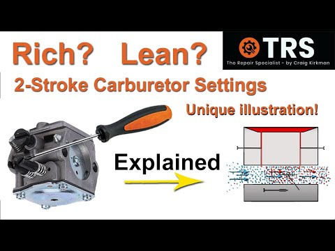 2 Stroke Carburetor   How to Tune  How it Works!