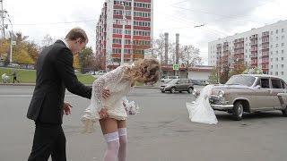 ЖЕСТЬ!!! Дикошарый водила испортил людям свадьбу