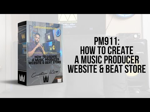 How To Build A Music Producer Website & Beat Store