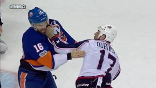 Ladd and Dubinsky have spirited bout, Tortorella holds back anger after no call