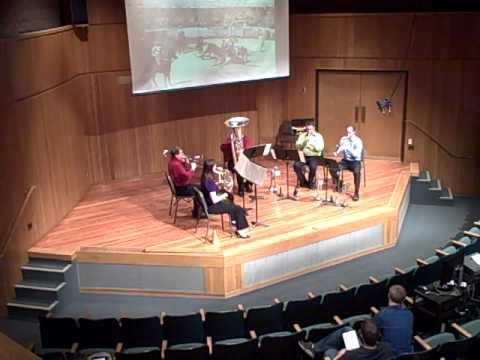 Chabrier Espana Brass Quintet