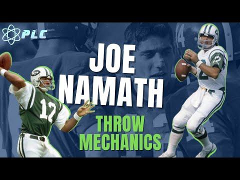 Joe Namath Throwing Mechanics