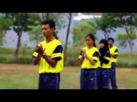 Ujian Senam Aerobik SMAN 1 Surabaya 2014-2015