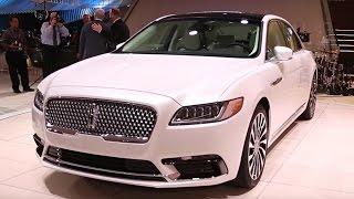 2017 Lincoln Continental - 2016 Detroit Auto Show