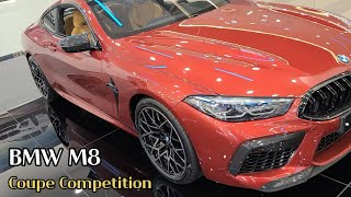 BMW M8 Coupe Competition 외관 실내…