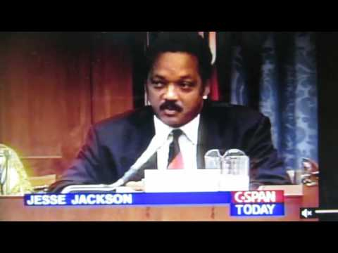 071794: Rev. Jesse Jackson Sr. Speaks Loudly Against Clinton Crime Bill