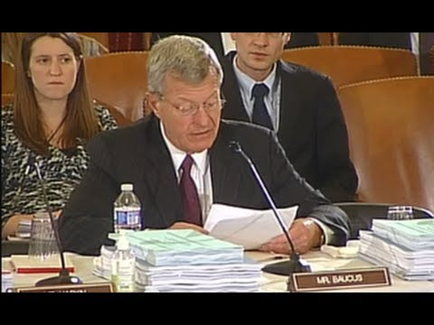 Baucus Makes Strong Pitch for Montana Priorities at Kick-Off Meeting for Farm Bill Conference