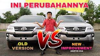 Improvement Baru FORTUNER bulan Agustus 2018 Toyota Indonesia