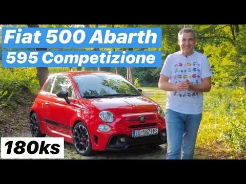 Sjemenka od Ferrarija! - Fiat 500 Abarth 595 Competizione - testirao Branimir Tomurad