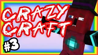 CRAZYCRAFT MINECRAFT - PART 3 - BLACK IRON!