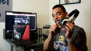 Pioneer HDJ-1500 Professional DJ Headphones Video Review