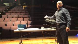 esp dmx sacn over wifi demo with source 4wrd