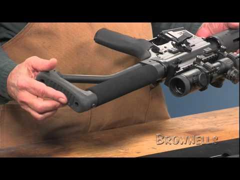 Brownells - AR-15 ARFX Skeleton Stock - YouTube