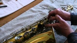 Replacing Saxophone Pads