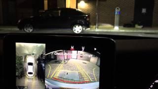 Mercedes C Class W205 360 camera night time