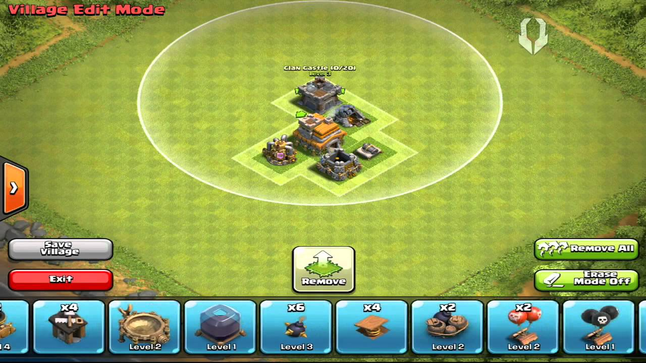 Best TH1 Base! (Clash of Clans)