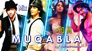 Muqabla - Dance Mix | Hrithik Roshan, Tiger Shroff, Katrina Kaif, Nora Fatehi | Street Dancer 3D