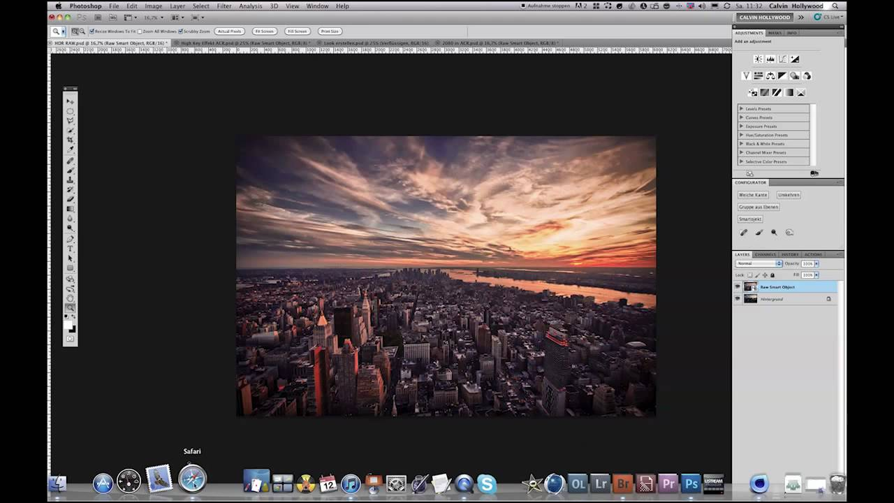 photoshop open layer in camera raw