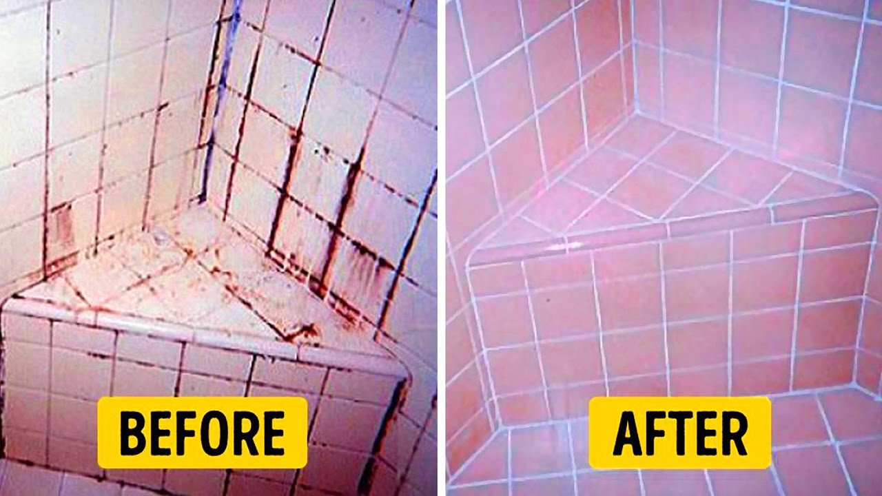 20 genius hacks for your bathroom - Bathroom Cleaning Hacks