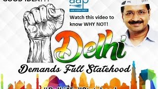 Delhi Full Statehood a Good Idea or a Bad Idea? Dr. Kiran Bedi Explains easily. Must Watch