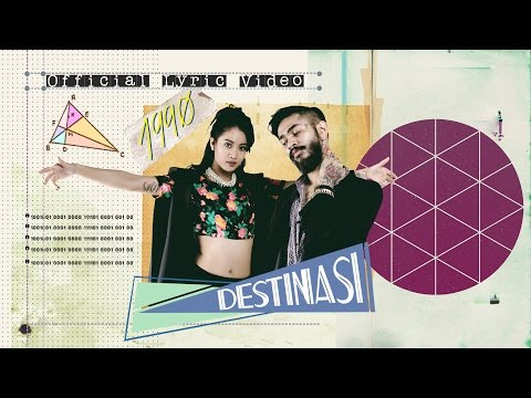 1990 - Destinasi (Official Lyric Video)