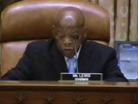 Jul 20 10 Hearing on the Need for Charitable Assistance: Rep. John Lewis Opening Statement