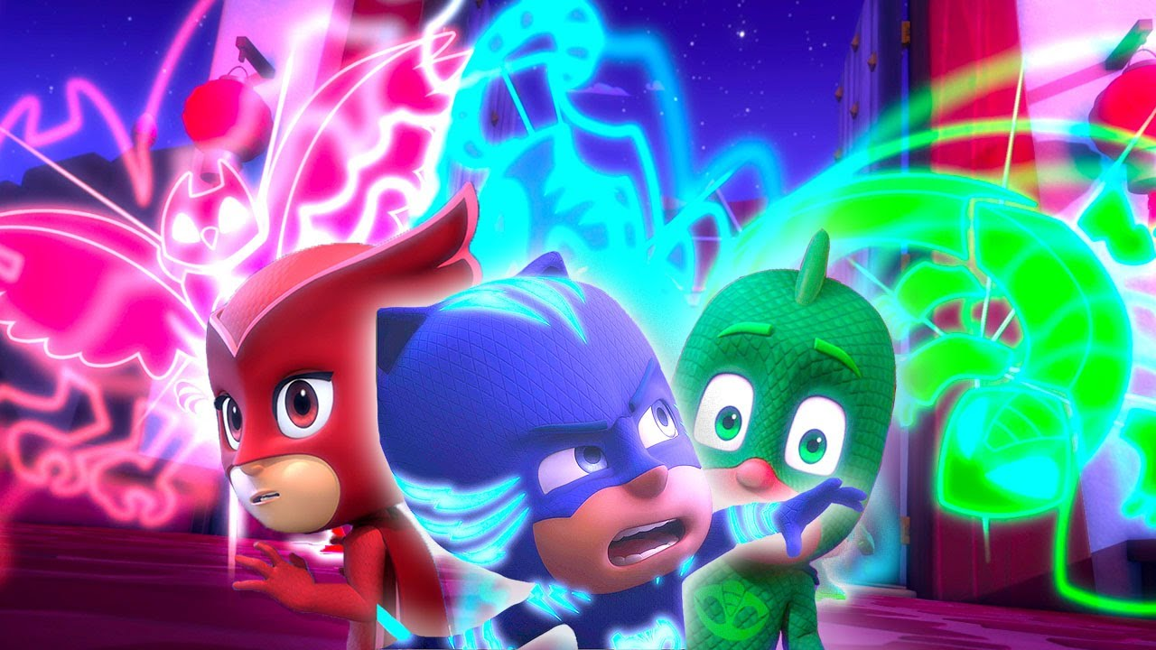 PJ Masks Full Episodes | Catboy, Owlette And Gekko In Action! | 2 HOURS |  Cartoons For Children #105