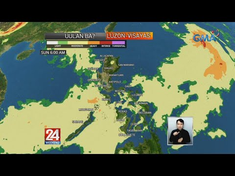 Fabian enhances Habagat as it moves over Philippine Sea   24 Oras Weekend