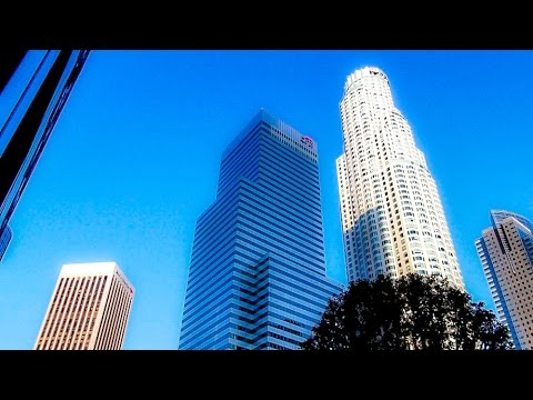 A Walk Around the Intersection of Flower and 5th Streets, Los Angeles