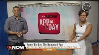 App of the Day: The Homework App #TheNowTampaBay