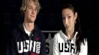 Ice Dancers Davis & White Talk Twizzles