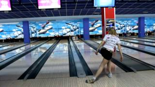 Apanyakina Ksenia EYC 2014 Апанякина Ксения  bowling