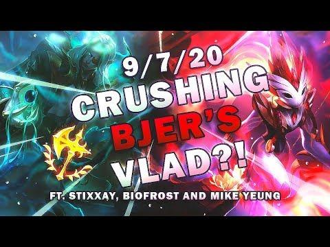 CHALLENGER KINDRED DEFEATS BJERGSEN'S VLAD FT. Stixxay, Biofrost, MikeYeung - League of Legends thumbnail