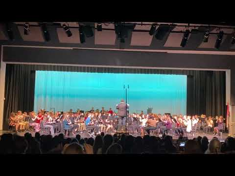2020 Jefferson County Middle School Honor Band Prelude to a Festival