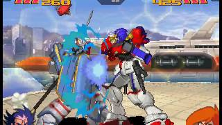 Gundam Battle Assault 2 - Street Mode - Maxter Gundam