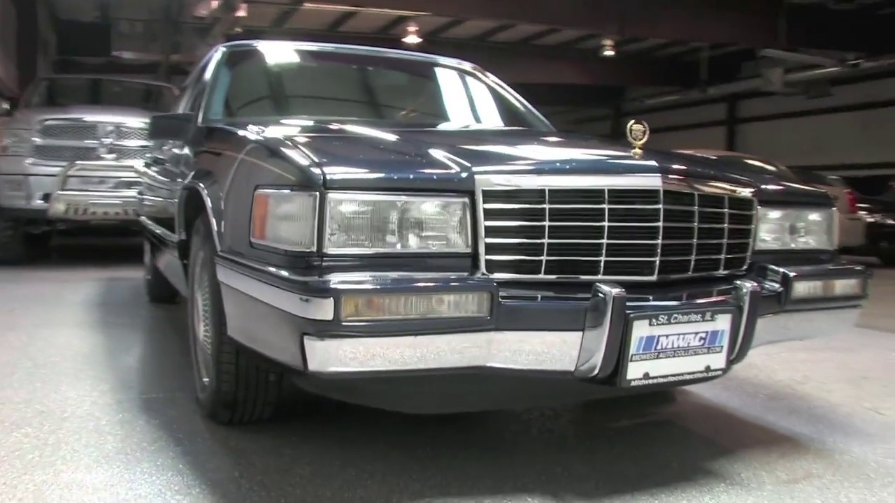 1993 Cadillac Deville Spring Edition Midwest Auto Collection Youtube
