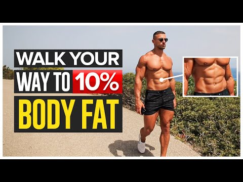 How To Walk Your Way To 10% Body Fat