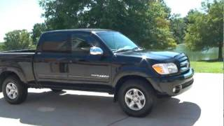 2005 TOYOTA TUNDRA SR5 TRD OFF ROAD 4X4 DOUBLE CAB FOR SALE SEE WWW SUNSETMILAN COM