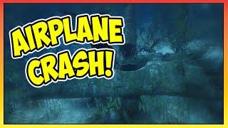 "GTA 5 - Secret Underwater ""Cropduster"" Airplane Crash Site! (GTA V)"