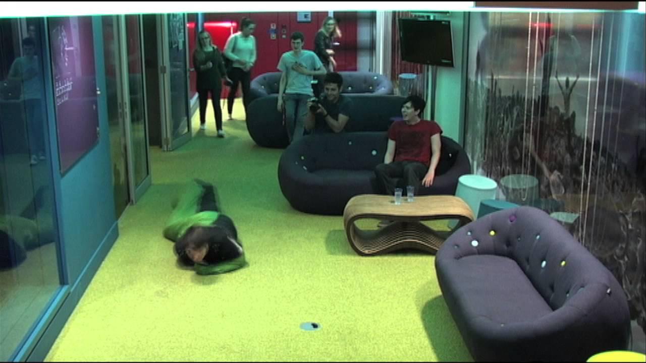 Dan And Phil Sleeping Bag Caterpillar Race In Hyperspeed