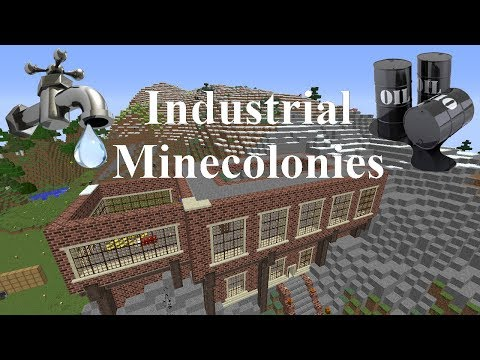 Industrial Minecolonies 1.11.2 Episode 11 - A Bit Of House Building