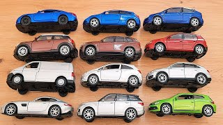 Welly car models 12 pieces
