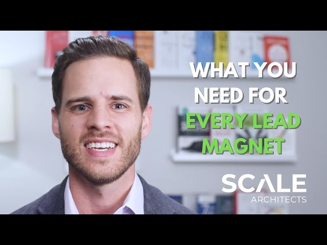 What you need for every lead magnet