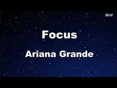 Focus  Ariana Grande Karaoke【With Guide Melody】